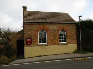 Ompton Primitive Methodist chapel, Main Road, Ompton   Christopher Hill 2018