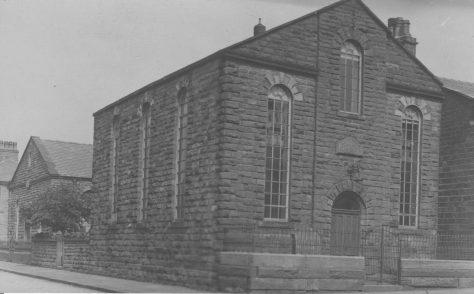 Clayton-le-Moors; Barnes Street Primitive Methodist Chapel.