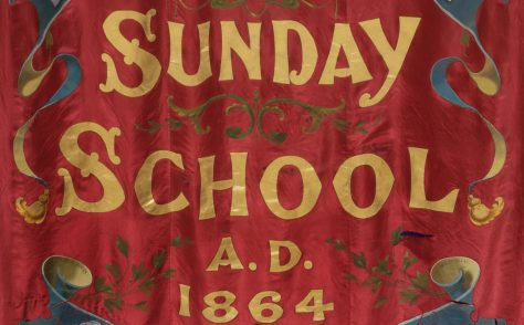 Thurlstone Primitive Methodist Sunday School Banner