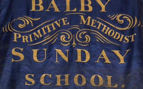 Balby Primitive Methodist Sunday School Banner
