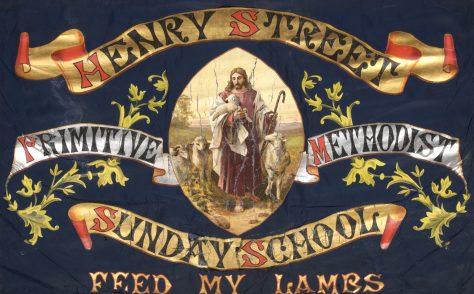 Henry Street Primitive Methodist Sunday School Banner