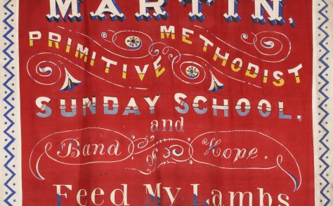 Martin Primitive Methodist Sunday School Banner