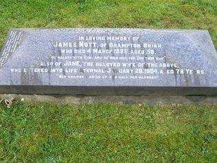 Jane's grave, Lingen   Vivienne Simkins