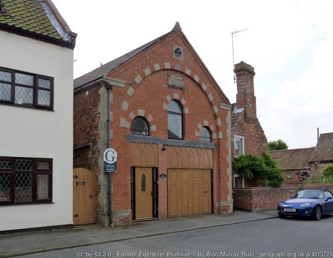 Ollerton Primitive Methodist chapel | Alan Murray-Rust