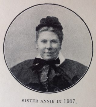 Sister Annie in 1907