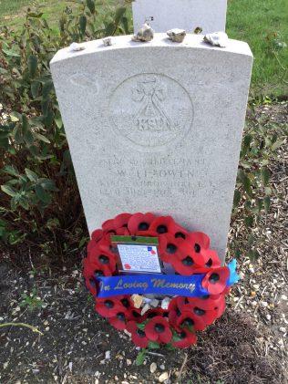 Grave of WILLIAM LLEWELYN OWEN
