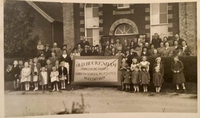Old Buckenham Primitive Methodist Sunday School Centenary 1851-1951