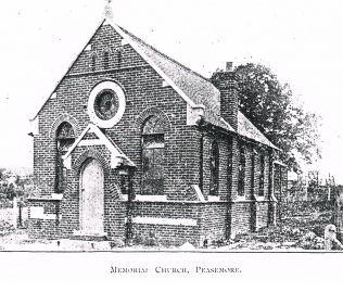 Peasemore Memorial Primitive Methodist chapel