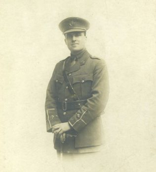 William Llewelyn Owen in uniform of KSLI