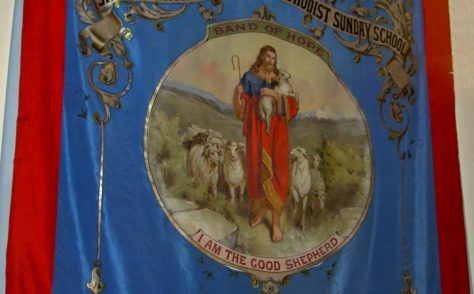 Skelmanthorpe Primitive Methodist Sunday School Banner