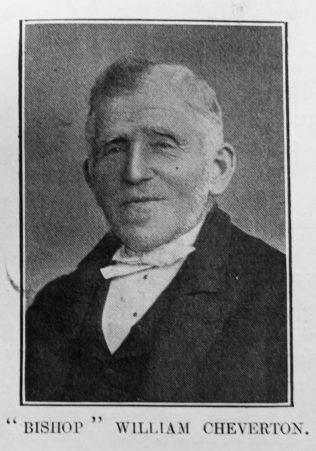 """Cheverton, """"Bishop"""" William (1821-1916)"""