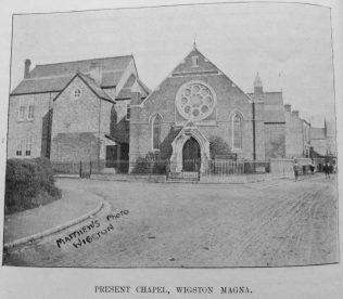 Wigston Magna New Primitive Methodist chapel | Primitive Methodist Magazine1907/558
