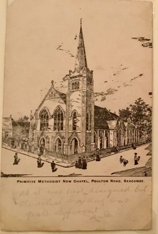 Seacombe Primitive Methodist Church, as designed in 1907 | Rev Steven Wild