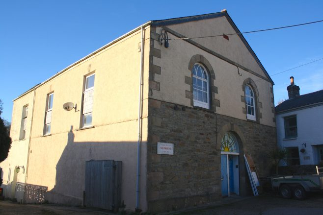 former Chacewater Primitive Methodist chapel | Jo Lewis 2019