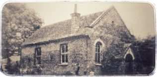 The former 1882 Corfe Mullen Primitive Methodist chapel
