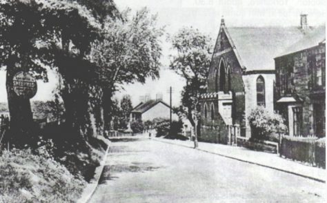 Sheepwash Bank Primitive Methodist Chapel, Guidepost, Northumberland