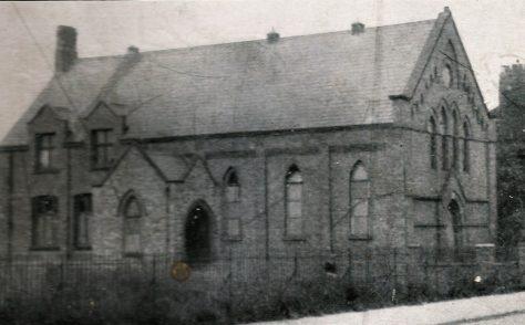 Nantwich Wood Memorial Primitive Methodist Church, Barony.