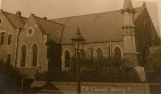 Birtley Primitive Methodist Church, 1899 | Postcard from collection of Revd Steven Wild