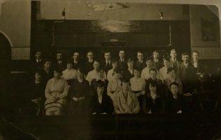 Birtley Primitive Methodist Choir | Postcard from collection of Revd Steven Wild
