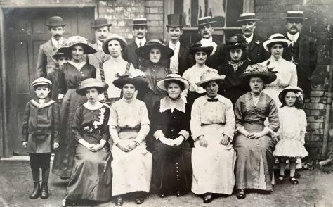 Brierley Hill Bent Street Primitive Methodist Choir, 13 July 1913