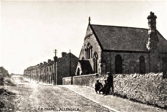 Allendale Cottages PM Northumberland | Image from the Newcastle Methodist District Archives