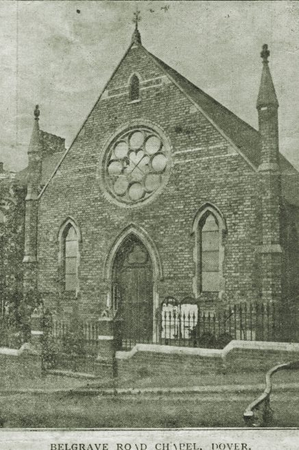 Belgrave Road Primitive Methodist chapel Dover, Kent | Image from the Newcastle Methodist District Archives