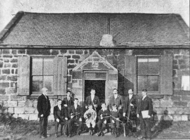 Benton Square PM Chapel & Orchestra, Northumberland (no date) | Image from the Newcastle Methodist District Archives
