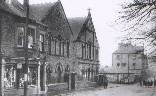 Consett, Park Road PM Chapel Co. Durham | Image from the Newcastle Methodist District Archives