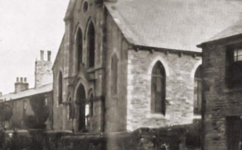 Castleside Consett Road Primitive Methodist Chapel Co. Durham