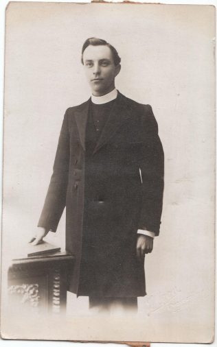George Bell | Picture supplied by Martin Lazell from the papers of Rev. Harold Wright