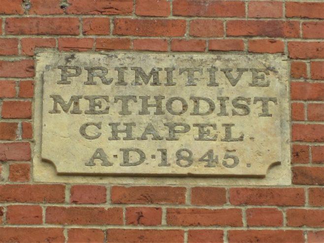 Mollington Primitive Methodist chapel | Anne Langley 2019