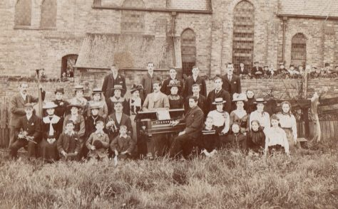 Sacriston PM Chapel Choir 1900, Co. Durham