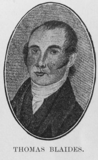 Blaides, Thomas (abt1799-1845) | H.B. Kendall Vol 1, p505