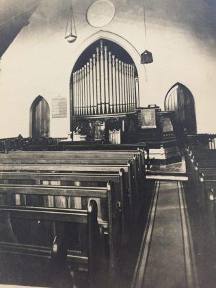 Eglington Hill Chapel interior   Supplied by Lyn Bliss