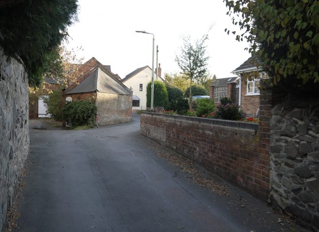The site of the Primitive Methodist chapel in Tanners Lane, Hathern | Philip Thornborow, 2018