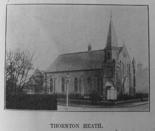 Thornton Heath Primitive Methodist chapel | Primitive Methodist Magazine 1908/550