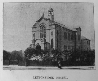 Leytonstone Primitive Methodist chapel | Primitive Methodist Magazine 1908/550
