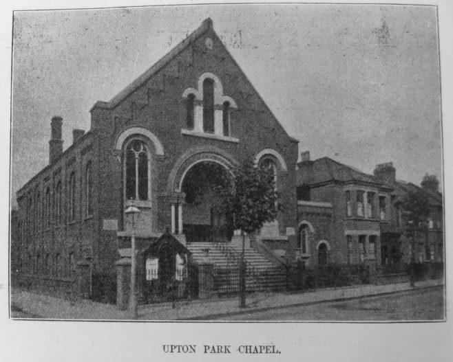 Upton Park Primitive Methodist chapel | Primitive Methodist Magazine 1908/550