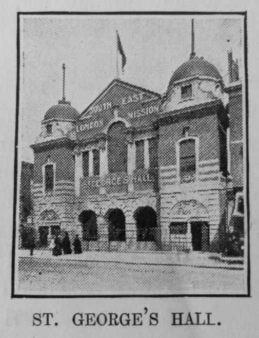 St Georges Hall | Primitive Methodist Magazine 1908/550