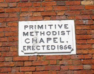 Grandborough Primitive Methodist plaque | Anne Langley