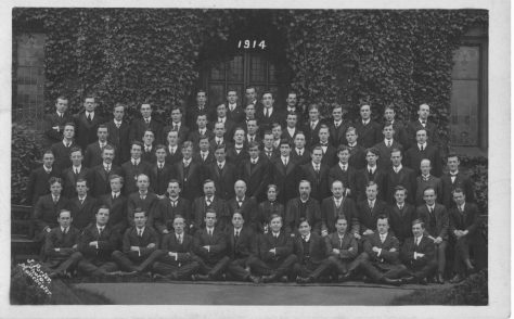 Hartley College Students 1914