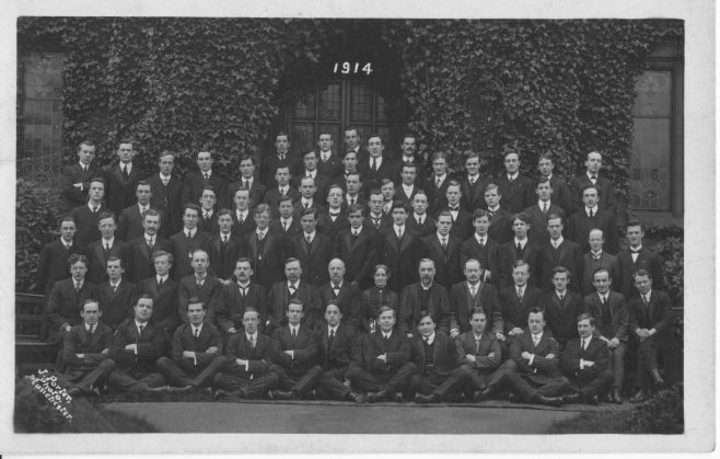 Hartley College Students 1914 | Supplied by Martin Lazell