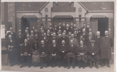 Hull District Synod 1922