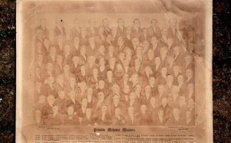 Composite picture of Primitive Methodist ministers