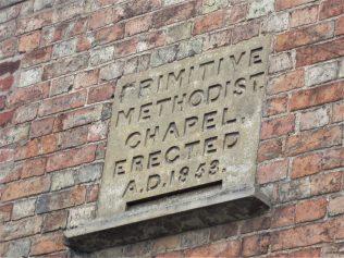 Southam Primitive Methodist chapel plaque | Anne Langley