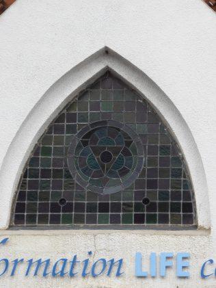 3 Erdington PM Chapel. deatil of window, 8.8.2019