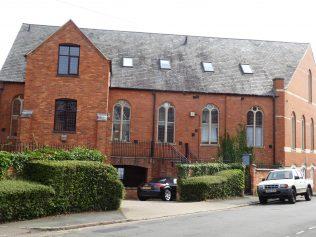 3 Harlestone Road Primitive Methodist Chapel, west side, 3.8.2019
