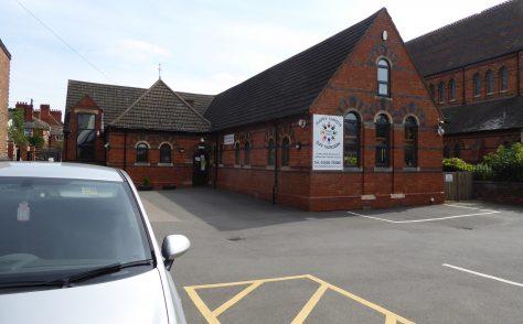 Northampton, St James Road, St James's Hall Primitive Methodist preaching place, Northamptonshire Grid ref SP743606