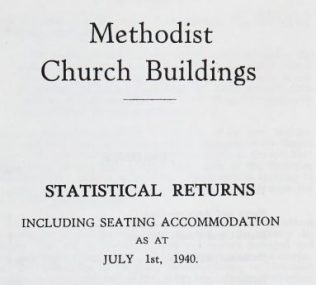 1940 Buildings record title page