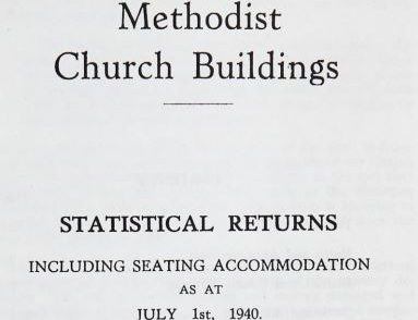 Methodist Church Buildings in 1940